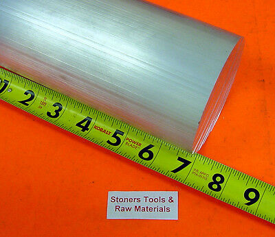 "3"" ALUMINUM 6061 ROUND ROD 7"" long Solid T6511 New Lathe Bar Stock 3.0"" diameter"