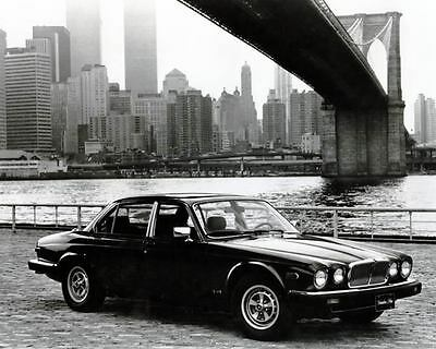 1986 Jaguar XJ6 Vanden Plas Automobile Photo Poster Twin Towers zu2194-6QRYKG