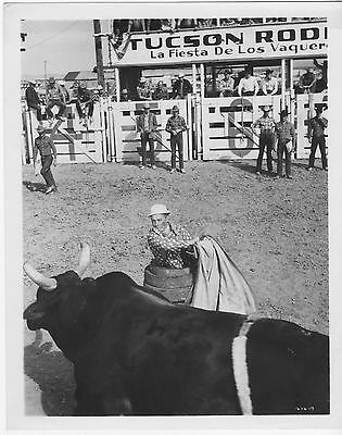 LA FIESTA DE LOS VAQUEROS TUCSON RODEO orig 1953 movie photo ARENA/HARRY MORGAN