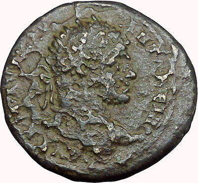 CARACALLA Ancient  Roman Coin Serdica  Trace Hera wife & sister of Zeus i33959