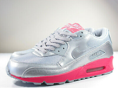 53cea660ab70a5 Ds Nike 2007 Air Max 90 Metallic Silver 9.5 Infrared Safari 1 Atmos Patta  180 95