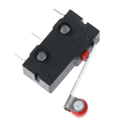 Hot 10pcs New Micro Roller Lever Arm Normally Open Close Limit Switch KW12-3