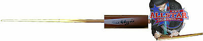 Alex Hurricane Higgins Signed Snooker Cue See Proof World Champion