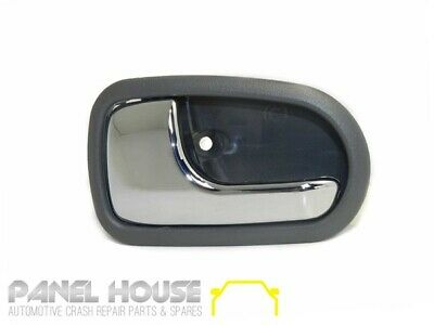 Mazda 323 BJ Protege 98-03 Left Rear Interior Chrome Grey Door Handle Inner NEW