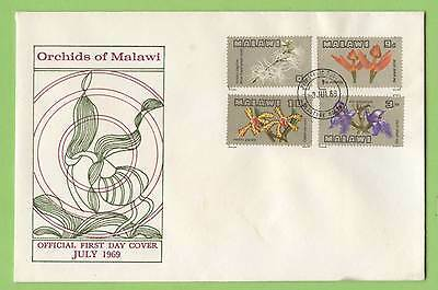 Malawi 1969 Flowers set on First Day Cover, unaddressed