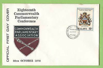 Malawi 1972 Parliamentary Conference First Day Cover