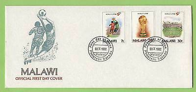 Malawi 1982 Football World Cup set First Day Cover