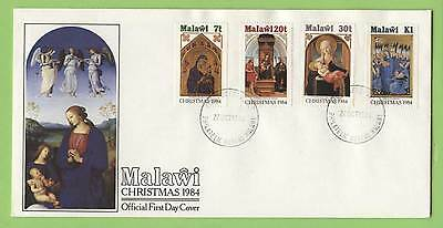 Malawi 1984 Christmas set on First Day Cover