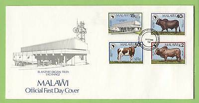 Malawi 1989 African Development Bank/Cattle set First Day Cover