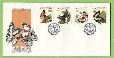 Malawi 1993 Butterflies set on First Day Cover