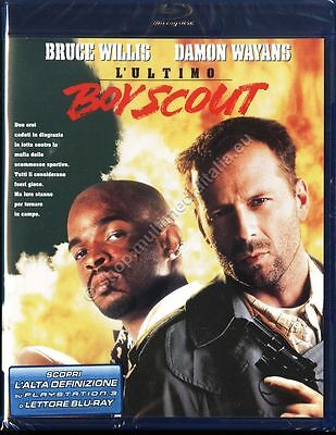 L'ULTIMO BOY SCOUT (1991) Bruce Willis - BLU RAY DISC NUOVO