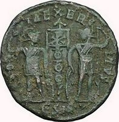 Constans Gay Emperor Constantine the Great son Roman Coin Glory of Army i33929