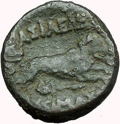 Alexander the Great  under Lysimachos  King of Thrace Ancient Greek Coin i34011