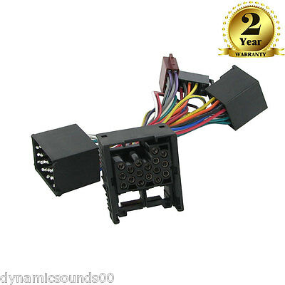 CT10BM01 Parrot SOT T-Harness Adaptor ISO Wiring Lead For BMW Mini (2001-2006)
