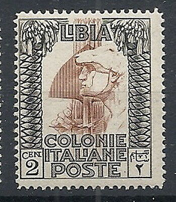 1924-29 Libia Pittorica 2 Cent Mnh ** - Rr12560-3