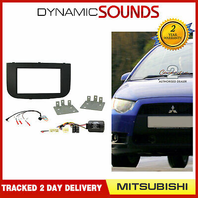 CTKMT08 Double Din Car CD Stereo Fascia Fitting Kit For Mitsubishi Colt 2009>