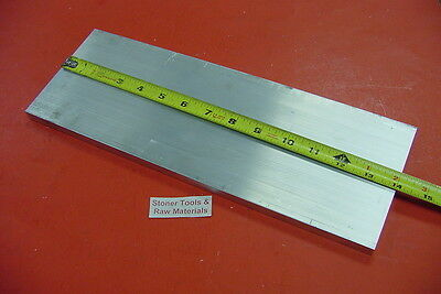 "3/8"" X 6"" ALUMINUM 6061 FLAT BAR 14"" long T6511 Solid .375"" Plate New Mill Stock"