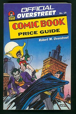 Overstreet Comic Book Price Guide #19 1989 18TH Ed. VF- (7.5) Jerry Robinson Cv