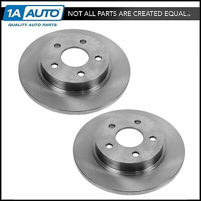 2006 2007 Ford E-350 Super Duty Brake Rotors SRW Front Pair