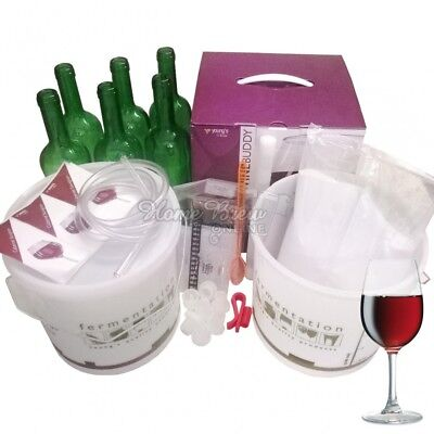 WineBuddy Starter Kit And Refill Wine Kits Youngs Home Brew Wine Making