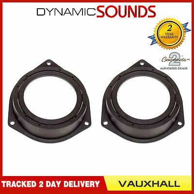 CT25VX05 130mm Rear Side Panel Speaker Adaptor Kit Ring For Vauxhall Corsa 2006>