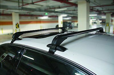 Heavy Duty Lockable Anti-Theft Universal Fit 4/5 Door Roof Bars Rails #SWRB8