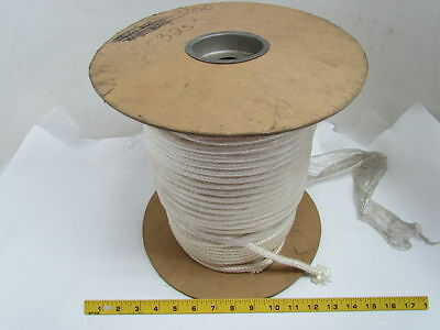 """High Temp Heat Resistant Fiberglass Braided Square Rope 5/16"""" square-325 Ft Roll"""