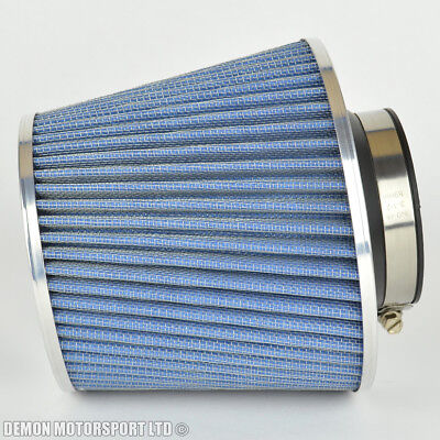 Universal Air Filter Blue Ideal For Mazda 2 3 5 6 Rx7 Rx8 323f Mx5 (P/N 38344)