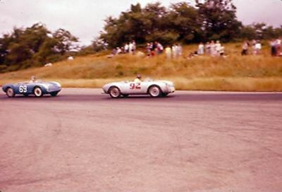 1955 Porsche 550 Spyder Race Car Photo u6779-C96BNI