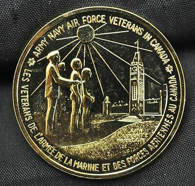 1973 Army, Navy, Air Force Veterans in Canada Medallion