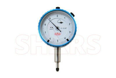 ".05"" PRECISION DIAL INDICATOR .0001"" AGD 2 GRADUATION LUG BACK 0-100 26.31% Off"