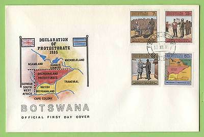 Botswana 1985 Declaration of Protectorate anniv. First Day Cover
