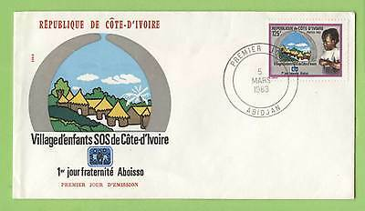 Ivory Coast 1983 Childrens Village First Day Cover