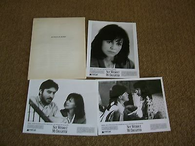 Not Without My Daughter Press Kit Photos Movie Sally Field Alfred Molina