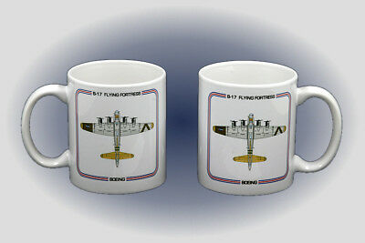 WW II B-17 Flying Fortress Coffee Mug - Microwave and Dishwasher Safe
