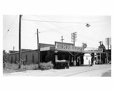 1941 Pure Oil Gas Station Factory Photo Marshville NC ch2350