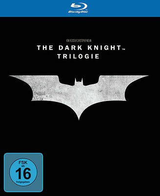 Batman - The Dark Knight Trilogy, Trilogie * NEU OVP * Blu-ray Box