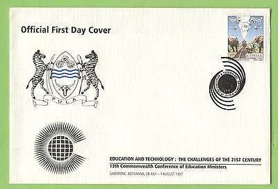 Botswana 1997 13th Commonwealth Conference on Education commemorative cover