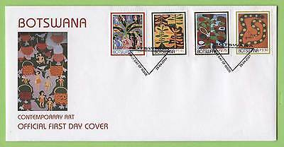 Botswana 2004 Contemporary Art set First Day Cover