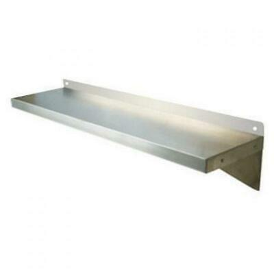 610mm x 356mm NEW STAINLESS STEEL WALL MOUNTED SHELF SHELVING DISPLAY UNIT