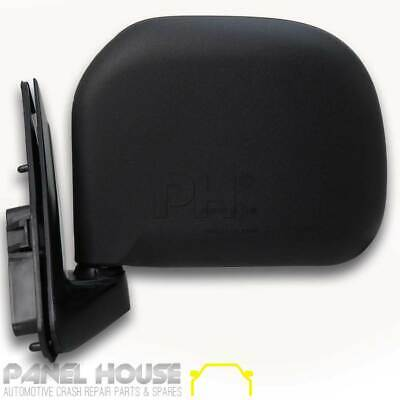NEW Toyota Hiace Mirror 89-05 Manual BLACK Left Side Door Mirror LHS 100 Series