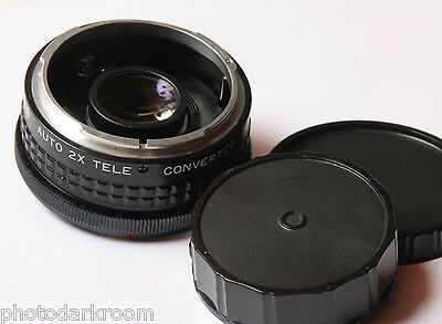 Dejur 2x Teleconverter For Canon FD - Japan - Glass Good - USED D38