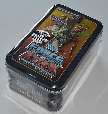 Force Attax Star Wars The Clone Wars Serie 4 *Tin Box Sammeldose* NEU + OVP