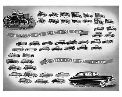 1899 thru 1949 Packard Automobile Photo Poster zu6555-A9QUT1