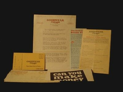 Goodwear Clothing Advertisement Salesman Packet Chicago Illinois