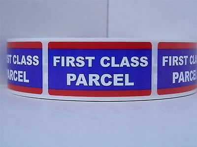 FIRST CLASS PARCEL USPS 1x2 Mailing Shipping Stickers Labels 500/rl