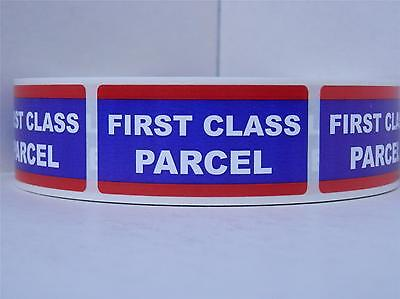 FIRST CLASS PARCEL USPS 1x2 Mailing Shipping Stickers Labels 250/rl