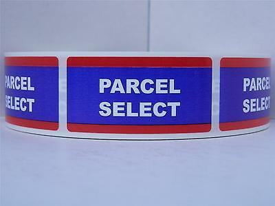 Parcel Select USPS 1x2 Mailing Shipping Stickers Labels 250/rl