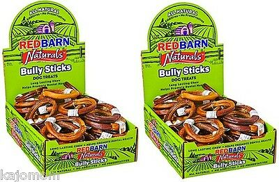70 Count RedBarn BULLY RINGS Dog Chews & Treats Sticks Grass Fed Cattle NATURAL