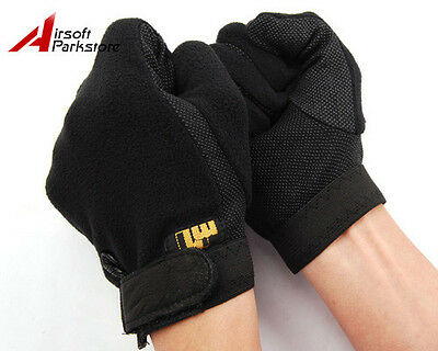 Airsoft Tactical Hunting Military Non-Slip Protective Assault Gloves S/M/L/XL A